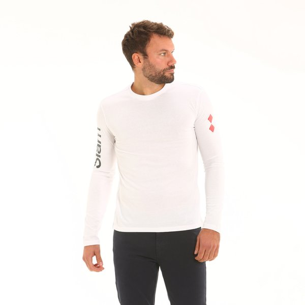 Men t-shirt LS D309 long-sleeve crew-neck