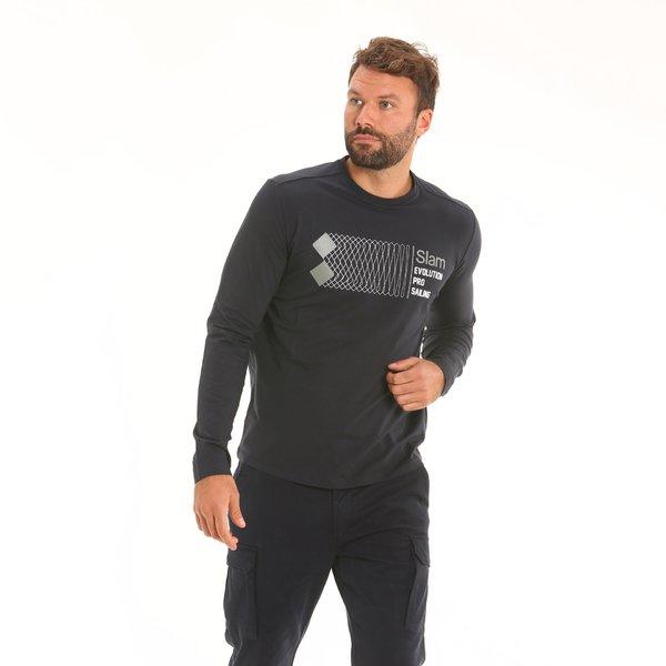 Herren T-Shirt F127 aus elastischem Baumwolljersey-Stretch