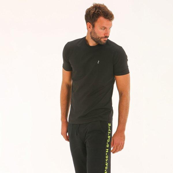 Camiseta hombre F134 en punto de algodón elastizado