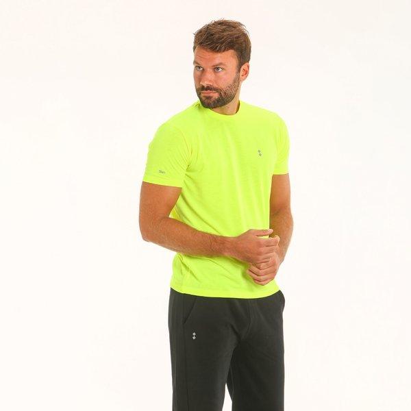 T-Shirt uomo neon F134