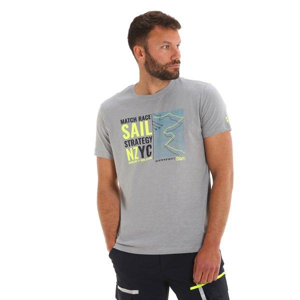 T-shirt uomo G108 girocollo a manica corta in cotone