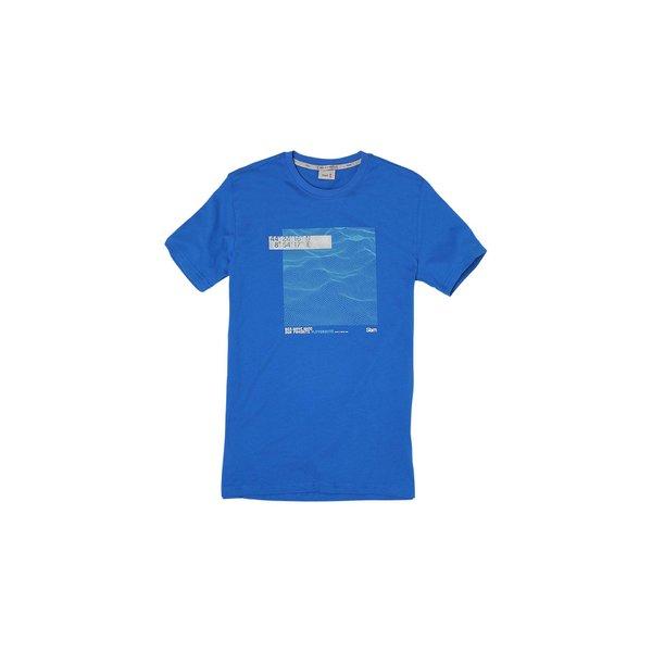 Kurzärmliges Herren-T-Shirt G101 mit Rundausschnitt aus Baumwolle