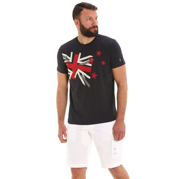 Kurzärmliges Herren-T-Shirt G97 mit Rundausschnitt aus Baumwolle