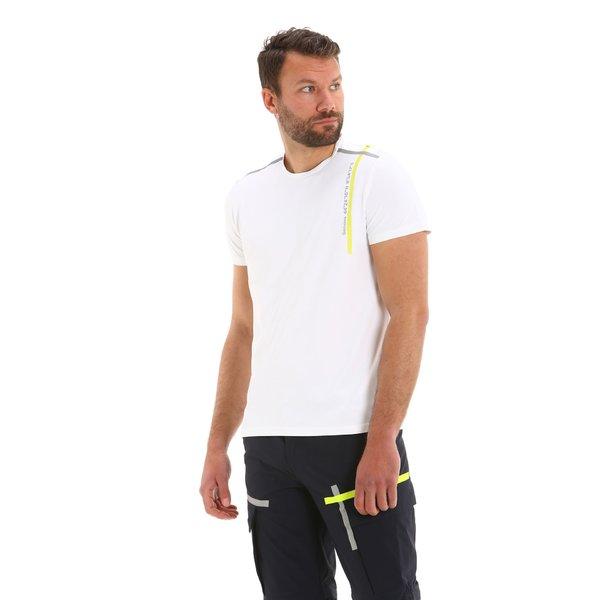 Herren-T-Shirt G94 aus Piquet-Funktionsgewebe aus elastischem Nylon.