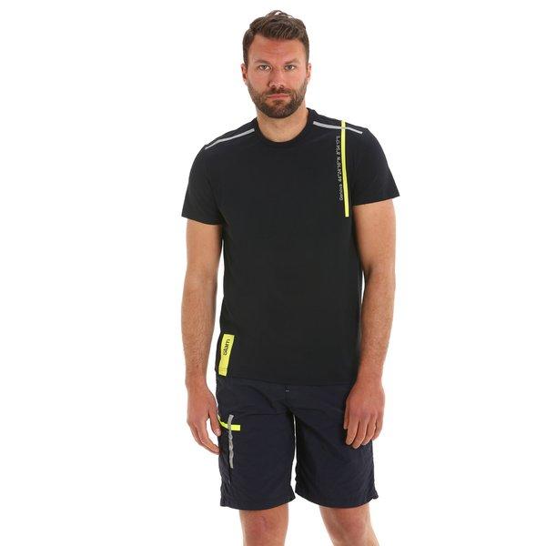 G94 men's t-shirt in technical stretch nylon pique