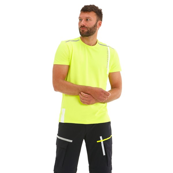 Camiseta para hombre G94 en piqué técnico de nailon elastizado