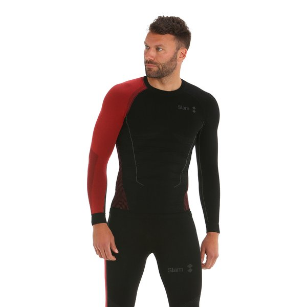 Men t-shirt Win-D Thermal Heat Top with long sleeves