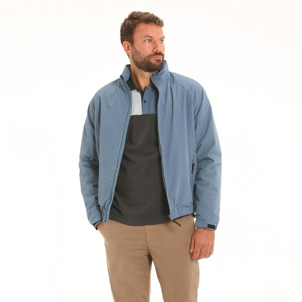Men jacket F22 with hood in nylon