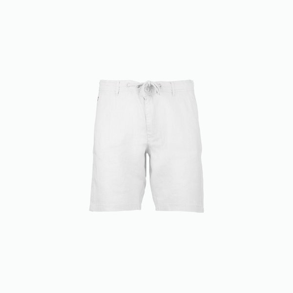 C25 men's Bermuda in Linen with French pockets