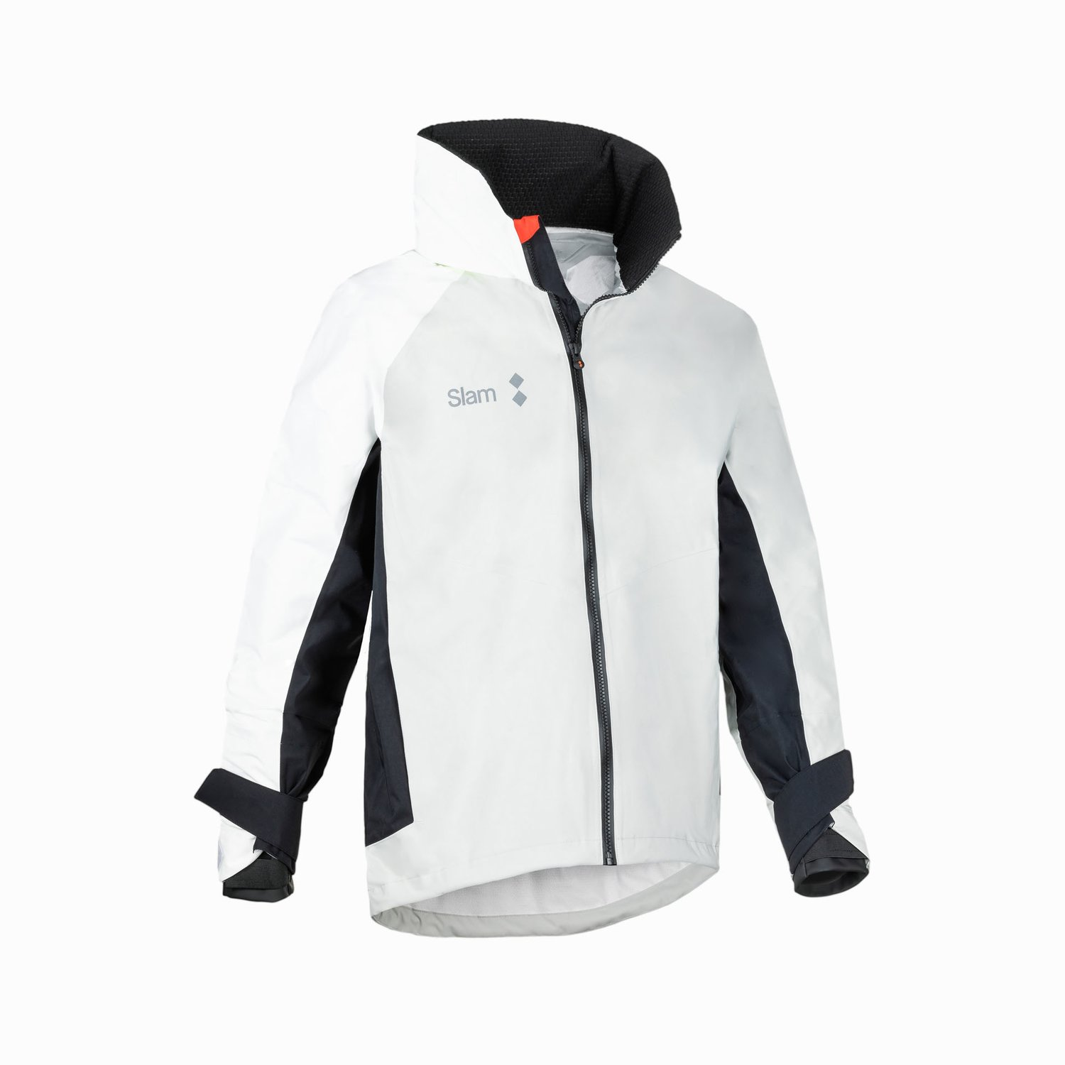 WIN-D 3 COASTAL JACKET - Grey / White / Black