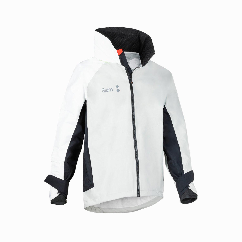 WIN-D 3 COASTAL JACKET - Grey / White / Black