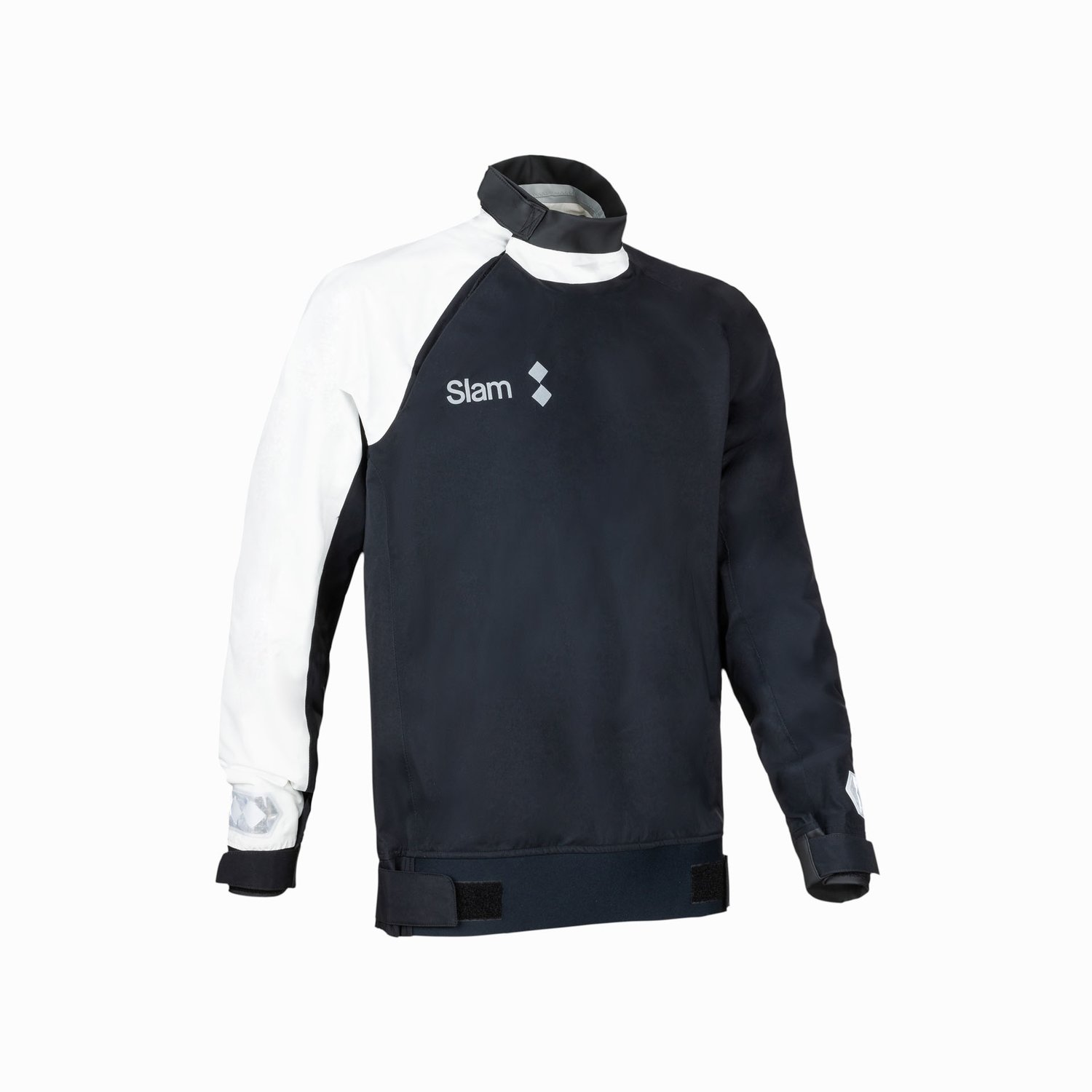 WIN-D 3 COASTAL SPRAY TOP - Nero / Bianco