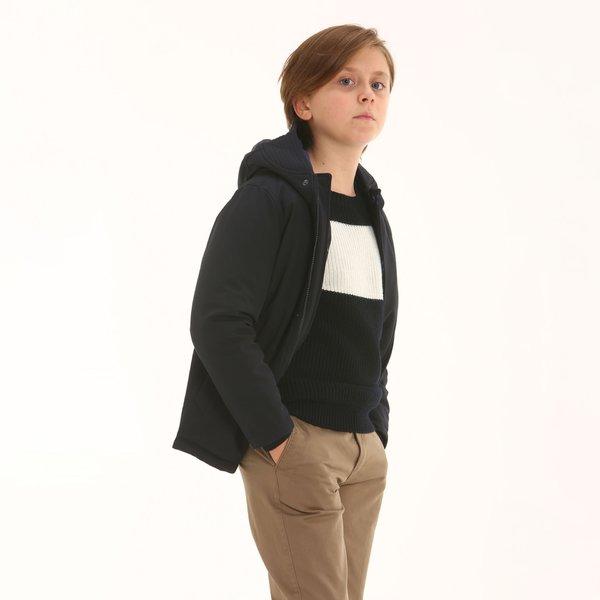 Parka niño Villalba con capucha