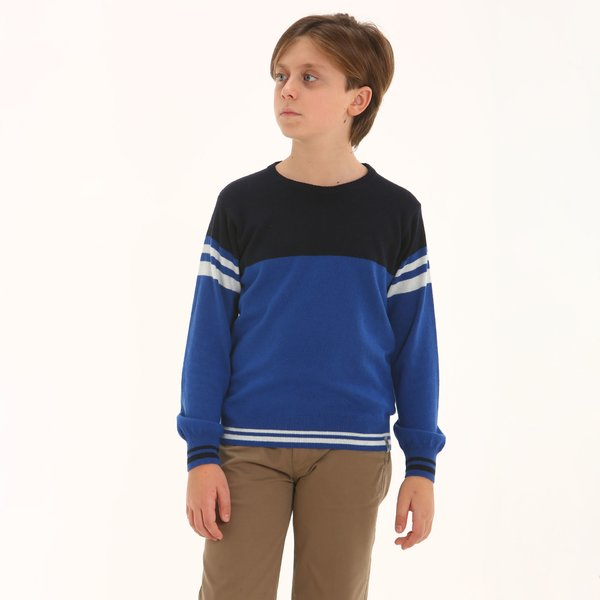 Junior jumper F321 in cashmere blend