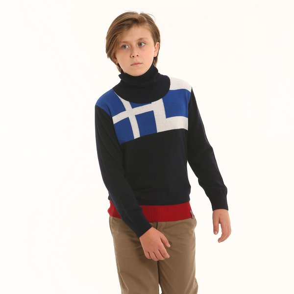 Junior jumper F327 in cashmere blend