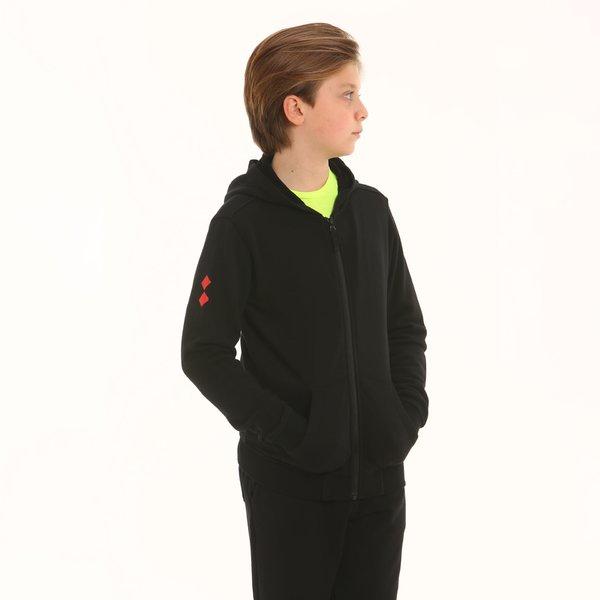 Junior sweatshirt D195 in french terry cotton
