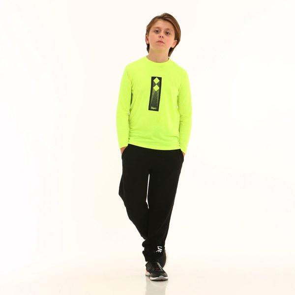 Pantalón deportivos niño D196 en algodón