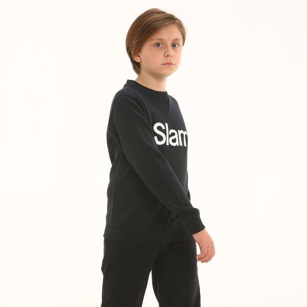 Sweat-Shirt enfant D197 en tissu bouclette coton