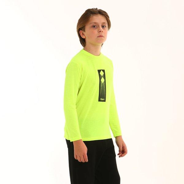 T-Shirt neon bambino F357