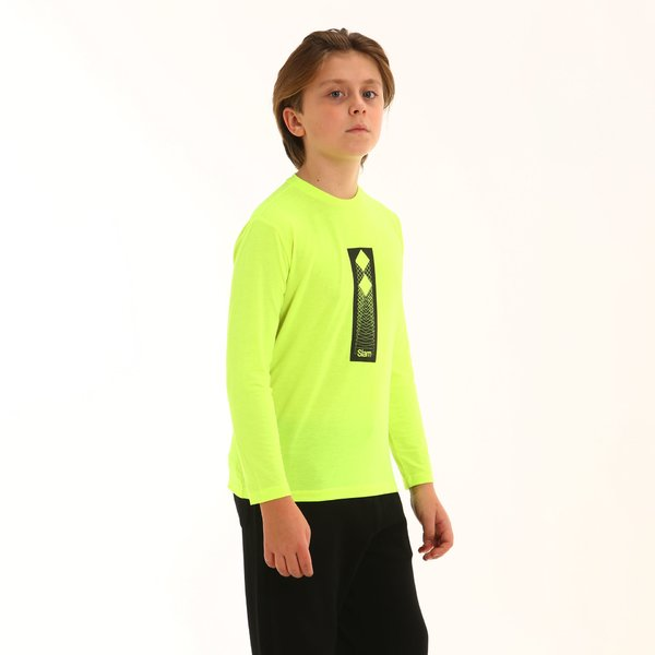 Kinder T-shirt Neon F357