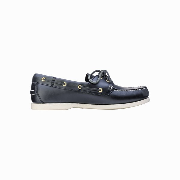 Prince Evo moccasin in leather and non-slip