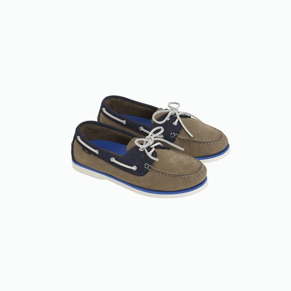 G700 boat shoe with nubuck upper