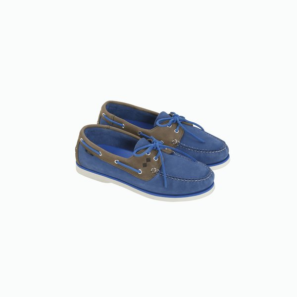 G70 boat shoe with nubuck upper