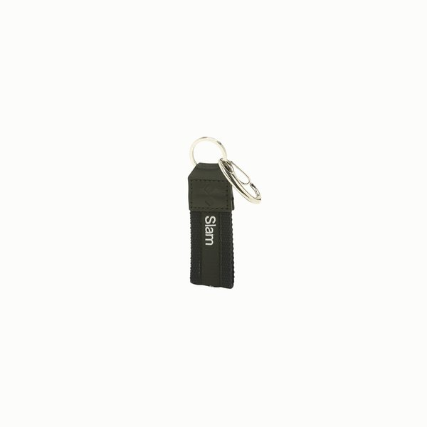 Key holder D413 in cotton and recycled PET