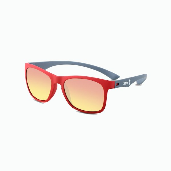 Ultra-light Red 40 KNT sunglasses