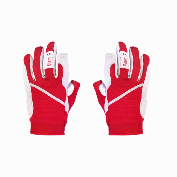Technical sailing glove in nylon with long fingers