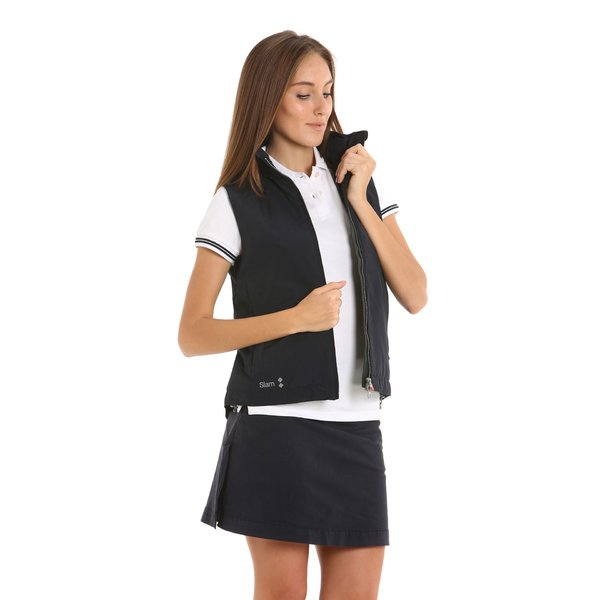 Summer sailing w's sleeveless lined vest women's jacket