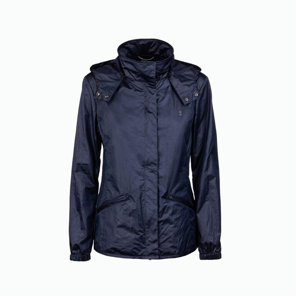 Oar jacket with removable windproof hood