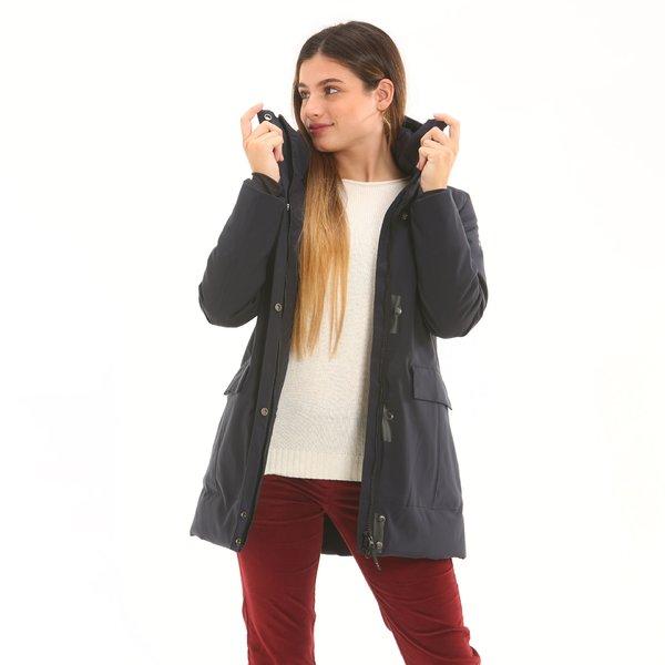Giacca donna F200 in poliestere Maxland™ con cappuccio