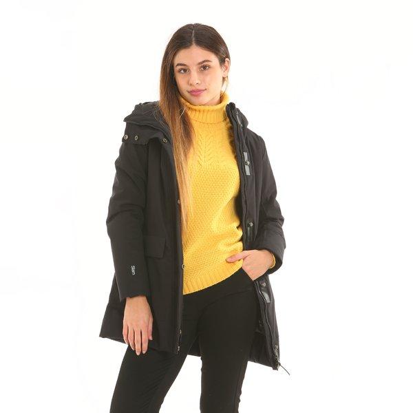 Chaqueta mujer F200 con capucha
