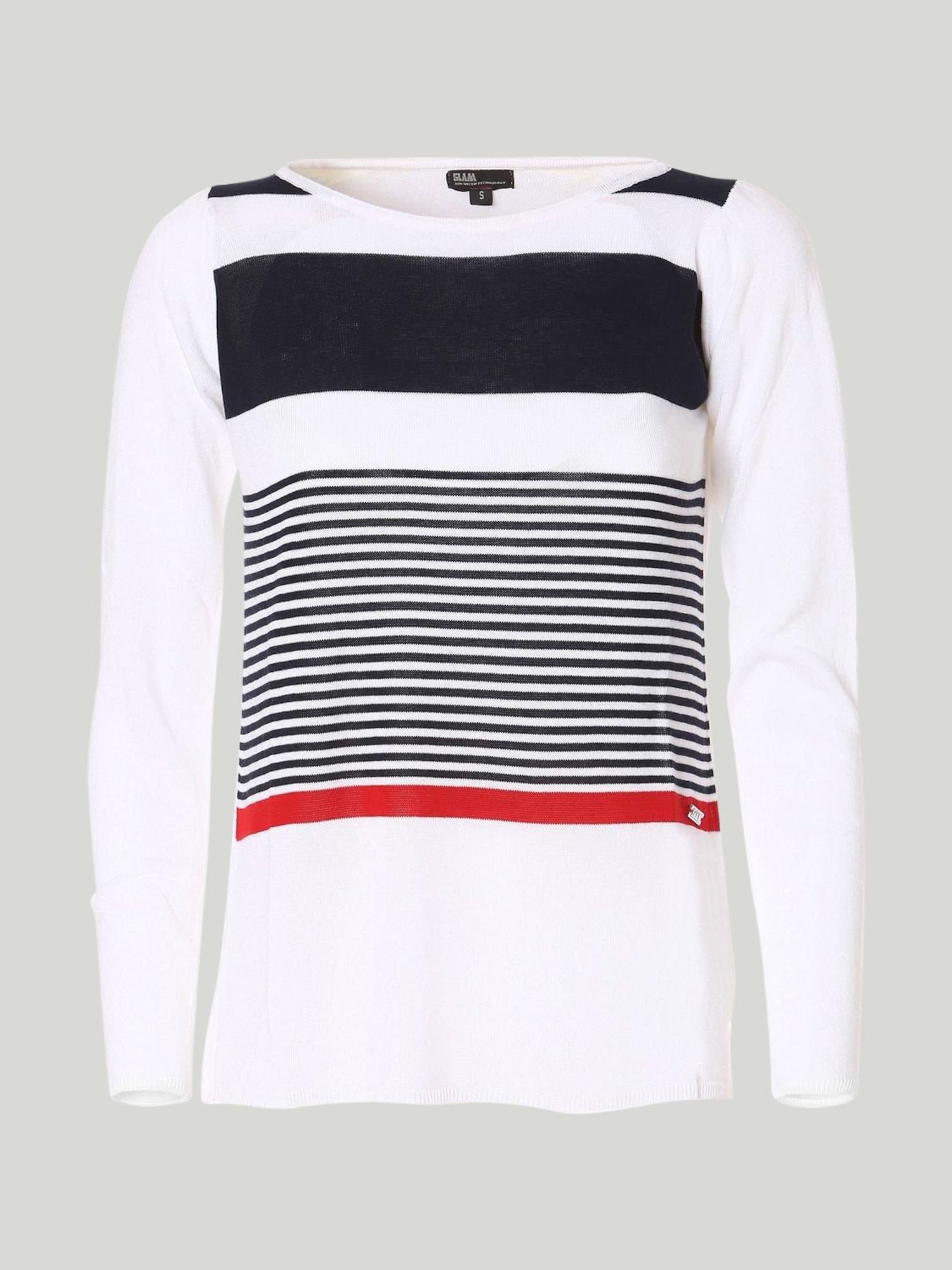 Shirt Deasy - Marineblau / Weiss