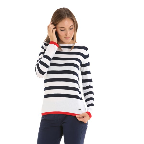 E218 women's jumper in a viscose-nylon blend