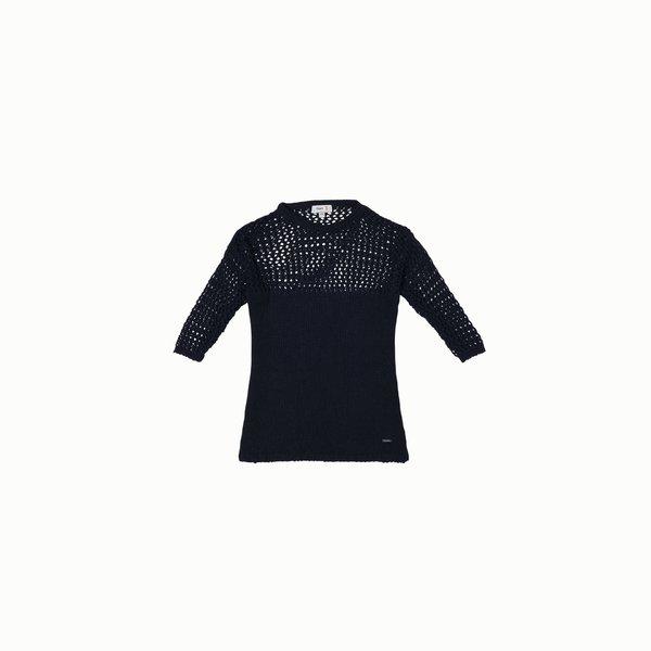 Suéter mujer E213 mezcla de algodón lisa