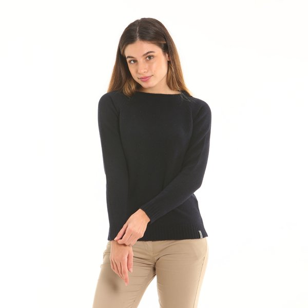 Maglione donna F259 Made in Italy in morbida lana (lambswool)