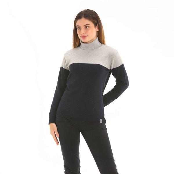 Damenpullover F260 aus Kaschmirmischwolle