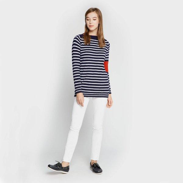Pantalón mujer A1 cinco bolsillos de algodón satén