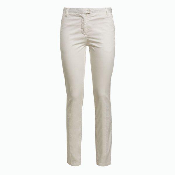 Pantalón mujer A2 de algodón satinado y elástico