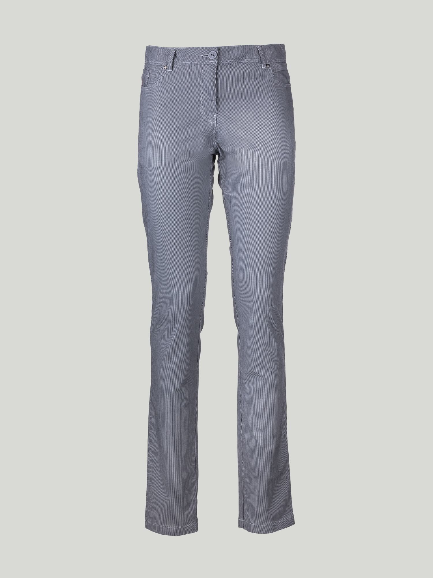 C66 Trousers - Navy / White