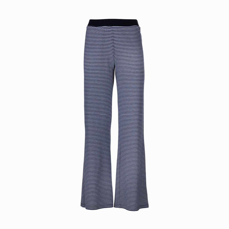 Pantalons C190 - Bleu Marine / Blanc