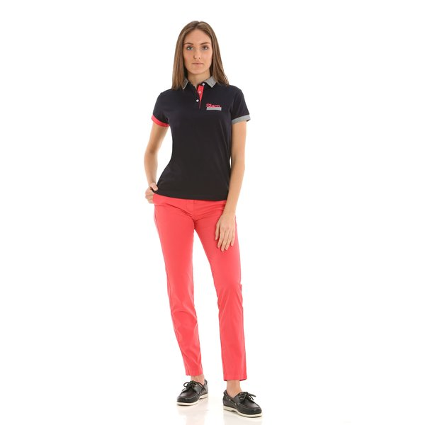 E264 women's chinos in stretch cotton twill