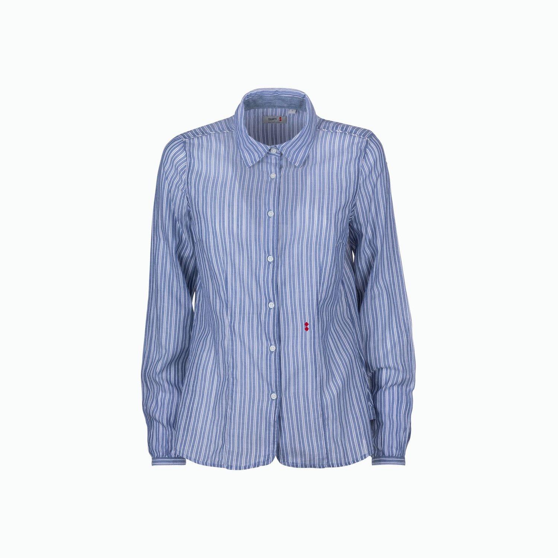 C02 Shirt - White / Light Blue