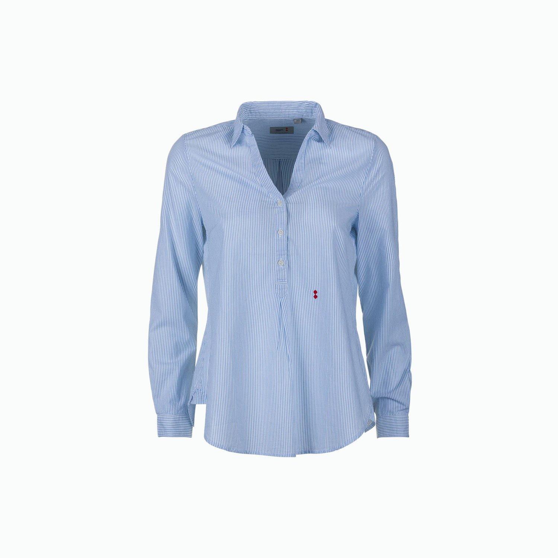 C04 Shirt - Light Blue / White