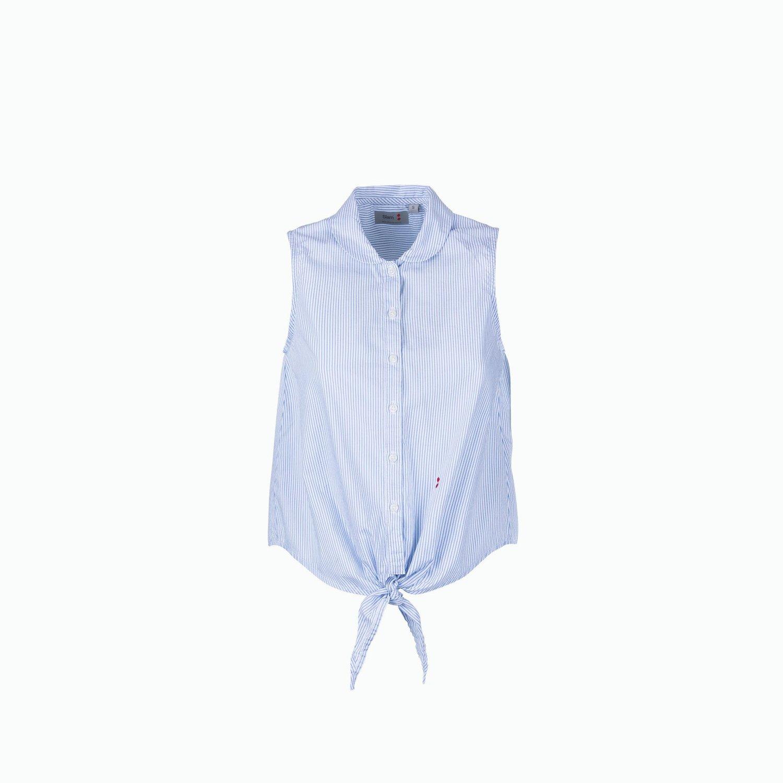 C07 Shirt - Azul Claro / Blanco