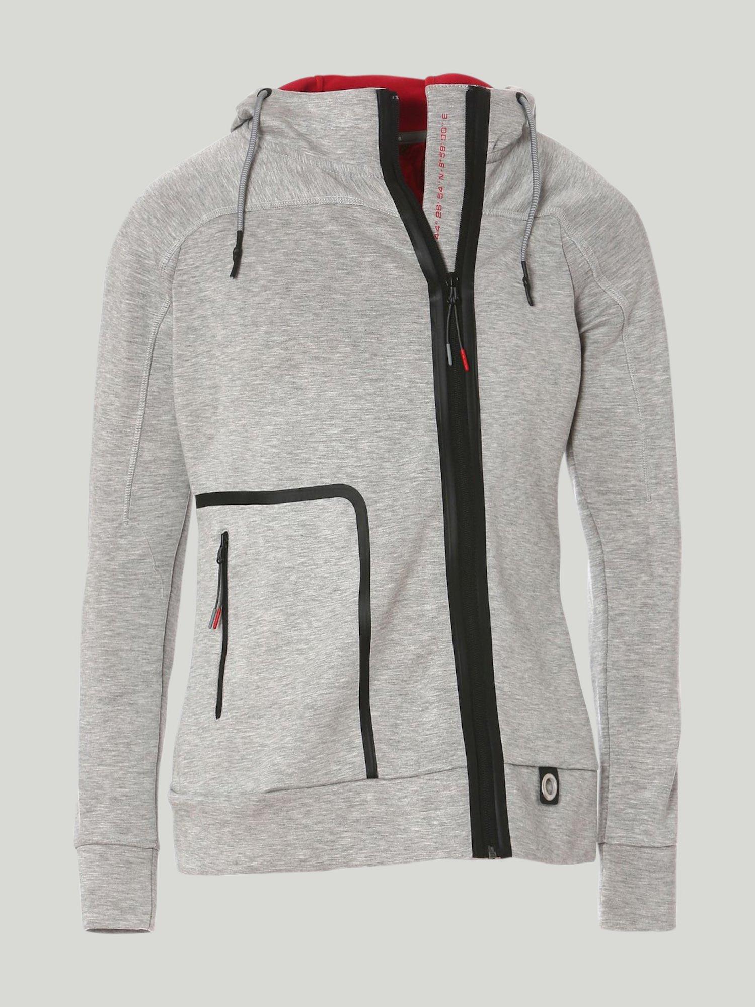Sweatshirt Keel - Grau Melange