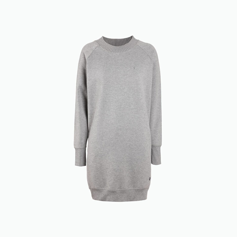 Sweatshirt Mel B23 - Dunkel Grau Melange