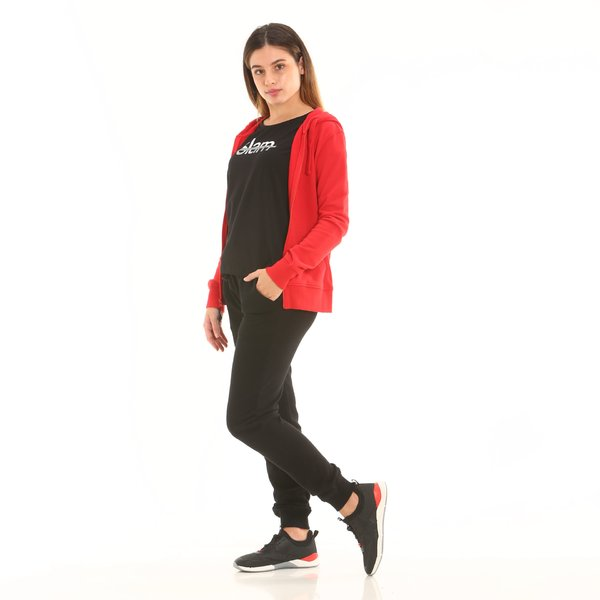 Women sweatpants D659 in french terry cotton